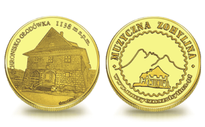 """Medal pamiątkowy Schronisko Górskie ZHP """"Głodówka"""" 195"""