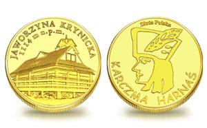 Medal pamiątkowy Karczma Harnaś na Jaworzynie Krynickiej 123