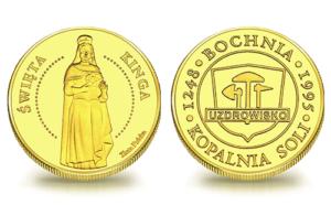Medal pamiątkowy Kopalnia Soli Bochnia – Święta Kinga 038