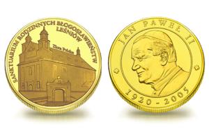 Medal pamiątkowy Sanktuarium Matki Bożej Leśniowskiej Patronki Rodzin 099