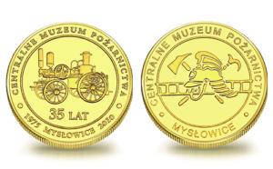 Medal pamiątkowy Centralne Muzeum Pożarnictwa w Mysłowicach 075