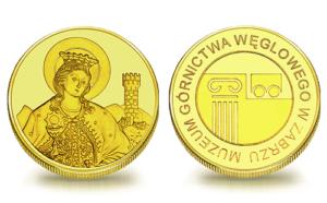 Medal pamiątkowy Muzeum Górnictwa Węglowego w Zabrzu 069