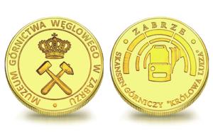 Medal pamiątkowy Sztolnia Królowa Luiza 073