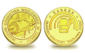 Medal pamiątkowy Sztolnia Królowa Luiza – maszyna parowa 072