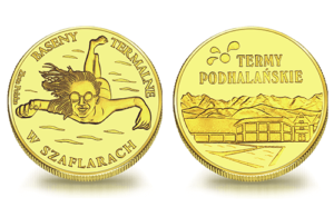 Medal pamiątkowy Termy Podhalańskie Szaflary 125