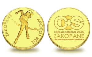 Medal pamiątkowy Tor Lodowy COS w Zakopanem 094