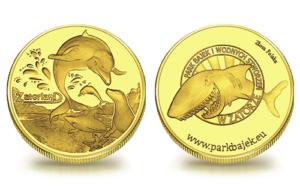Medal pamiątkowy Park Bajek i Wodnych Stworzeń 225