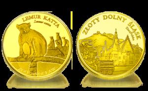 Medal pamiątkowy Zoo Wrocław: Lemur katta 243