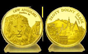 Medal pamiątkowy Zoo Wrocław: Lew angolski 241