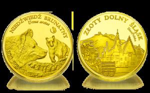 Medal pamiątkowy Zoo Wrocław: Niedźwiedź brunatny 249