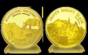 Medal pamiątkowy Zoo Wrocław: Nosorożec indyjski 240