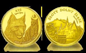 Medal pamiątkowy Zoo Wrocław: Ryś euroazjatycki 248