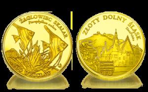 Medal pamiątkowy Zoo Wrocław: Żaglowiec skalar 296