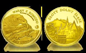 Medal pamiątkowy Zoo Wrocław: Waran z Komodo 251