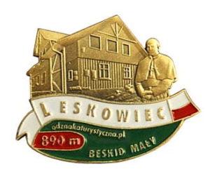 Odznaka Schronisko PTTK na Leskowcu 001