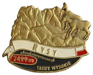Odznaka Rysy 003