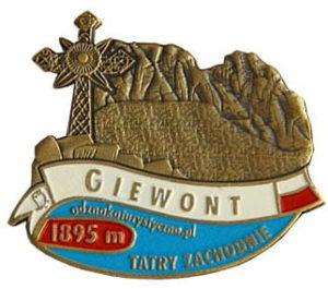 Odznaka Giewont 004