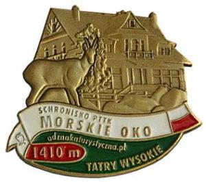 Odznaka Schronisko PTTK Morskie Oko 013