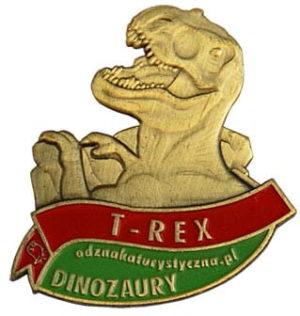 Odznaka T-Rex 017