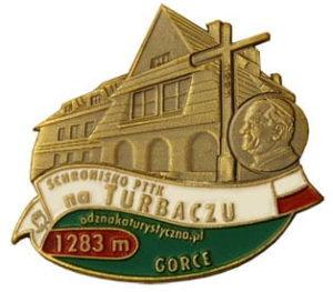 Odznaka Schronisko PTTK Turbacz 029