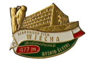 Odznaka Schronisko PTSM Wiecha 042