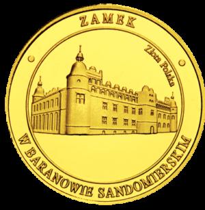 Medal: Zamek w Baranowie Sandomierskim herb 122