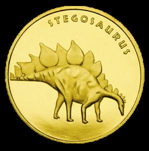 Medal: Zatorland – Park Dinozaurów w Zatorze Stegosaurus 047