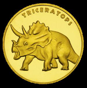 Medal: Zatorland – Park Dinozaurów w Zatorze Triceratops 046
