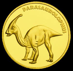 Medal: Zatorland – Park Dinozaurów w Zatorze Parasaurolophus 044
