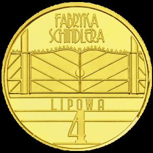 Medal: Fabryka Schindlera w Krakowie NOWE LOGO 167N