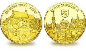Medal pamiątkowy z Limitowanej Kolekcji Złotej Polski: Kazimierz Dolny – Rynek SPL_002