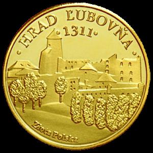 Medal: Zamek Stara Lubovna 090