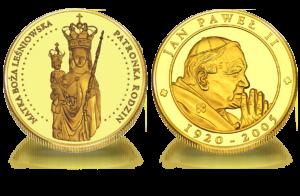 Medal pamiątkowy Matka Boża Leśniowska Patronka Rodzin 098