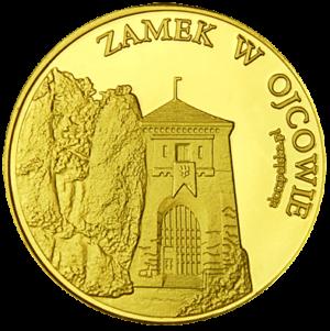 Medal: Zamek w Ojcowie i Grota Łokietka 210