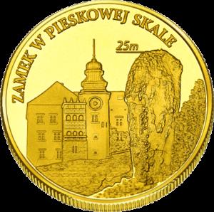 Medal: Zamek Pieskowa Skała w Sułoszowej 334