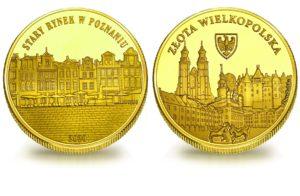 Medal pamiątkowy z Limitowanej Kolekcji Złotej Polski: Stary Rynek w Poznaniu SPL_007