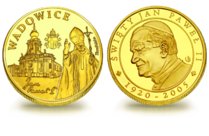Medal pamiątkowy Wadowice Rynek 317