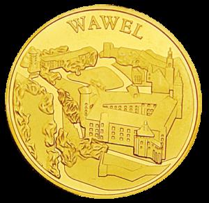 Medal: Zamek Królewski na Wawelu w Krakowie 061