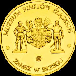 Medal: Zamek Piastów Śląskich w Brzegu 079
