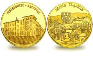 Medal pamiątkowy z Limitowanej Kolekcji Złotej Polski: Nikiszowiec SPL_011