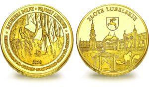 Medal pamiątkowy z Limitowanej Kolekcji Złotej Polski: Wąwozy lessowe w Kazimierzu Dolnym SPL_008