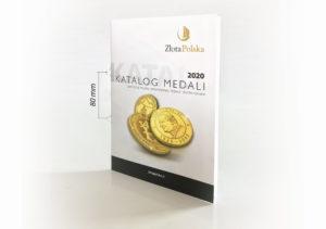Katalog medali Złota Polska 2020 – 80mm MAXI