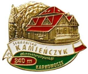 Odznaka Schronisko Kamieńczyk 041