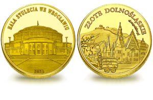 Medal pamiątkowy z Limitowanej Kolekcji Złotej Polski: Hala Stulecia we Wrocławiu SPL_020