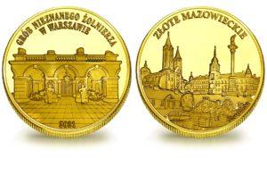 Medal pamiątkowy z Limitowanej Kolekcji Złotej Polski: Grób Nieznanego Żołnierza w Warszawie SPL_023