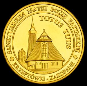 Medal Sanktuarium na Krzeptówkach w Zakopanem 032