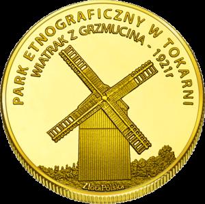Medal Park Etnograficzny w Tokarni Wiatrak 418