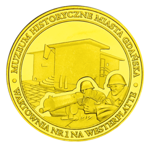 Medal Wartownia nr 1 na Westerplatte 141
