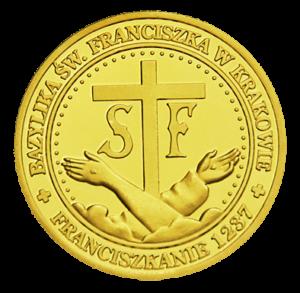Medal: Bazylika św. Franciszka w Krakowie Matka Boża 016