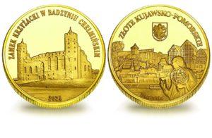Medal pamiątkowy z Limitowanej Kolekcji Złotej Polski: Zamek w Radzyniu Chełmińskim SPL_024